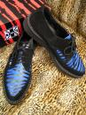 "TUK_CREEPERS "" POINTED ZEBRAhair""【BLKsuede /BLUE 】"