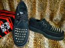 "TUK_CREEPERS "" ROUND-T/L-SOLE ""【BLACK suede/SPIKE】"