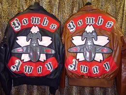 Applique Flying Jacket 【BOMBS AWAY】2019