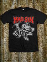 ROCK-T-シャツ 【 MAD SIN 】